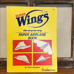 Super Wings The Step By Step Book Paper Airplane